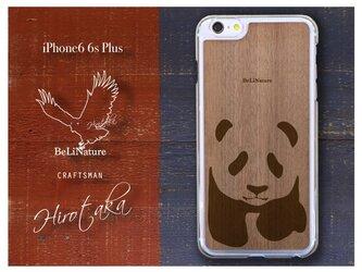 パンダが大好きな方々とっての最高のiPhone6 6sPlusケース クリアー(子パンダ)の画像