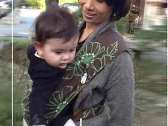 抱っこ紐 新生児 ベビースリング 抱っこ紐スパニッシュ大花の画像