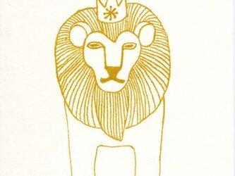 ポストカードセット-王様ライオンの画像