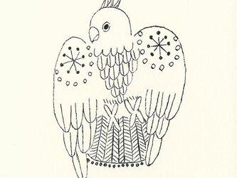 ポストカードセット-舞う鳥の画像