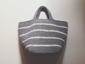 裂き編みかばんの画像