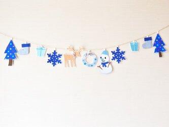 受注制作(制作に10日程かかります。)★スペシャルバージョン・クリスマスガーランドの画像
