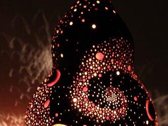 ひょうたんランプ【宇宙】tk-7の画像