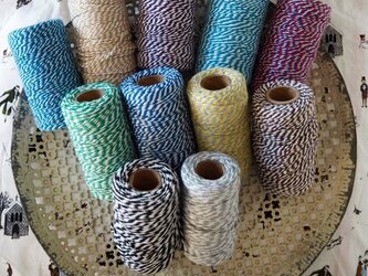 twist wrapping cotton tape  100mの画像