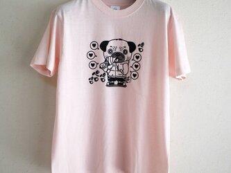 いぬ吉 ペロTシャツ(ピンク)Sサイズの画像