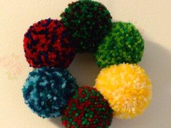 Nijinowa*Moco Fuwa Colourful wreath【SSサイズ】の画像