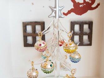 【受注制作】クリスマスツリー(マルチカラー・オーナメント)2015年バージョン②の画像