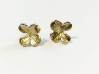 Yotsuba Earrings < SV925 >の画像