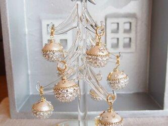 【1点もの】クリスマスツリー(クリスタル・オーナメント)の画像