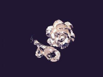 Rosa Alba Ring  < WhiteTopaz × SV925 >の画像