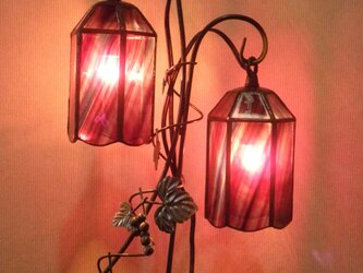 二灯式ランプ(ぶどう)の画像