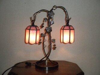 二灯式ランプ(ピンク)の画像