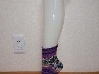 OPAL毛糸 靴下の画像