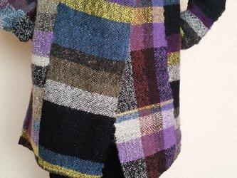 手織りジャケットの画像