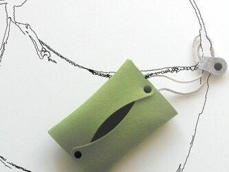 +ストラップ〈グリーン〉の画像