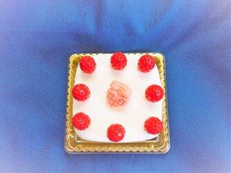 送料無料!!資材 PETゴールドケーキトレー 角型の画像