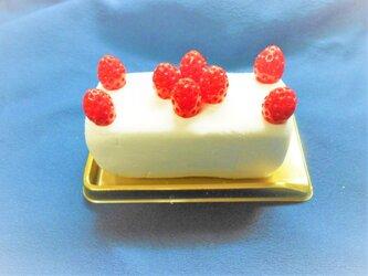送料無料!!資材 PETゴールドケーキトレー 長方形の画像