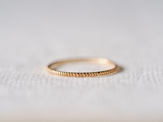 Milled Stacking Ring Fineの画像