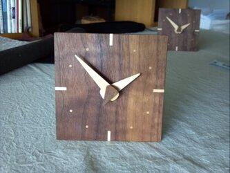 時計 (ウォールナット)の画像