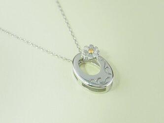 唐草模様に小菊 (Silver、K24)の画像