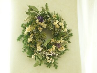 natural wreathの画像