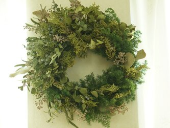 green wreath(large)の画像
