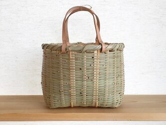 bote learther handle bag (M)の画像