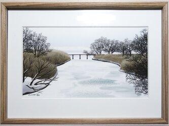 CG版画「氷河」の画像