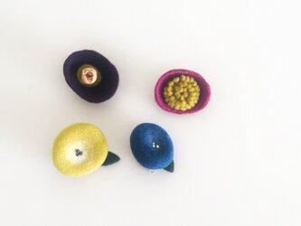 2way brooch 花の画像