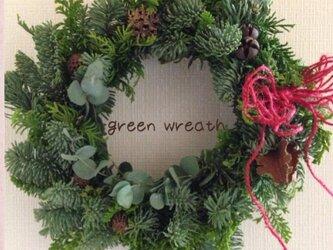 生のモミでgreen wreath グリーンリース②の画像