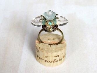お花の指輪(みずみずしい氷Ver.)の画像