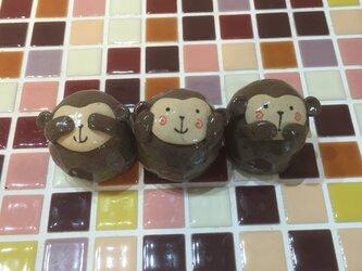 干支の置物*猿の画像