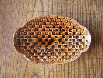 足付き楕円小皿の画像