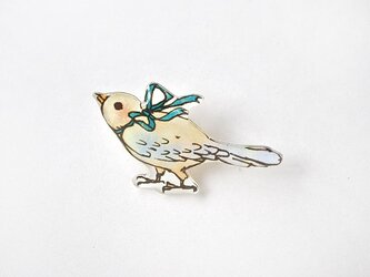 021 RIBBON-BIRD BROOCHの画像