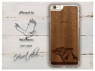 キリンが大好きな方々とっての最高のiPhone6 6sケース クリアーの画像