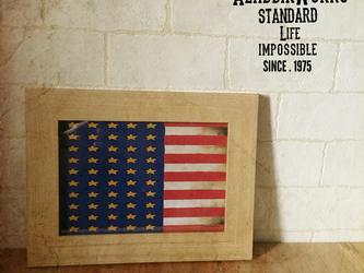 アメリカ星条旗ポスターの画像