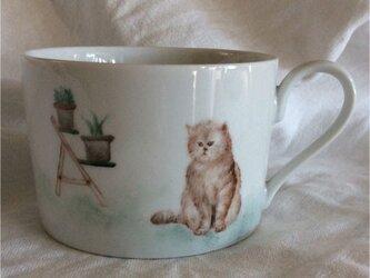 『ぶーたれねこさん』のマグカップの画像