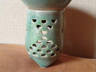 茶香炉ー青海波紋の画像