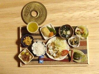 ★和の御膳・カキフライ定食(横縞布)の画像