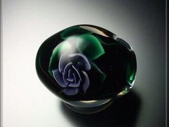 とんぼ玉 「 ROSE 」の画像