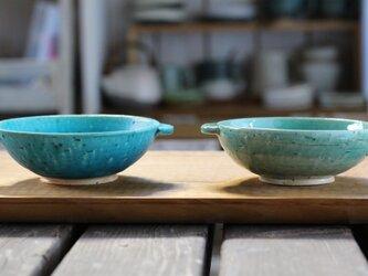 chouette.omi デザート鉢 青マット の画像