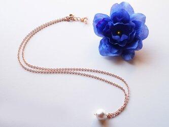 コットンパール ネックレス Sweet White Cotton Pearl necklace N0009の画像