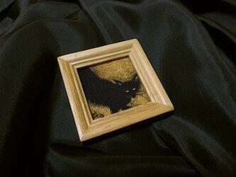 小さな展覧会シリーズ(黒にゃ~)の画像