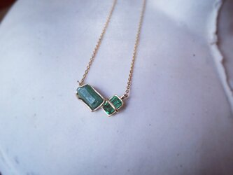 K10 Emerald necklaceの画像