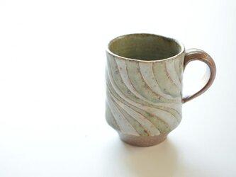 釉彩マグカップの画像