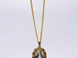 聖母マリア様のネックレス-2の画像