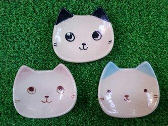 子猫の小皿の画像