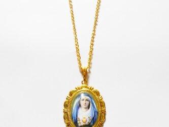 聖母マリア様のネックレスの画像