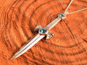 剣のペンダントトップの画像