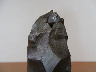 炭化花器の画像